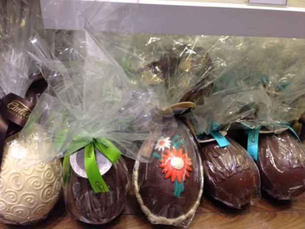 Ovos de Páscoa aretesanais. Foto: Mirella Monteiro/ DP/D.A Press