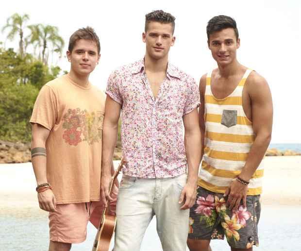 O trio desenvolveu um gênero chamado reggae pop. Foto: Ítalo Gaspar/Divulgação