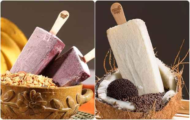 As famosas paletas mexicanas estão disponíveis em diversos sabores. Foto: Degusta Paleteria Mexicana/ Divulgação