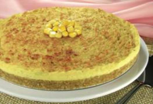 Torta de frango feita à base cream cracker. Foto: Pelaggio/ Divulgação