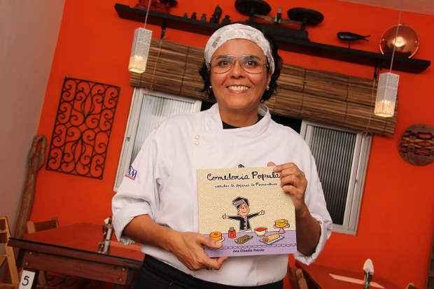 Ana Claudia Frazão lança quinto livro da série Comedoria Popular. Foto: Mari Frazão/ Divulgação