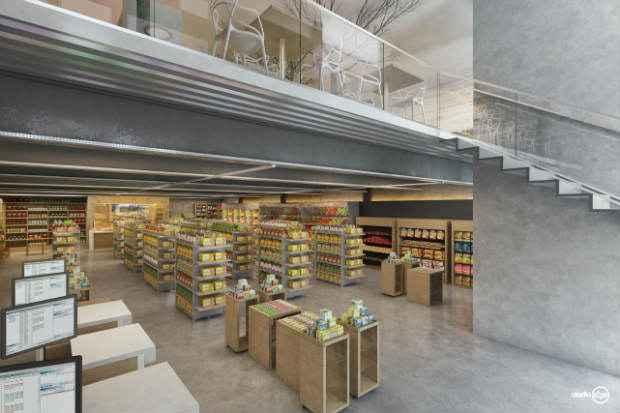 A parte interna da loja conta com uma área de 700m². Foto: 4Comunicação/ Divulgação