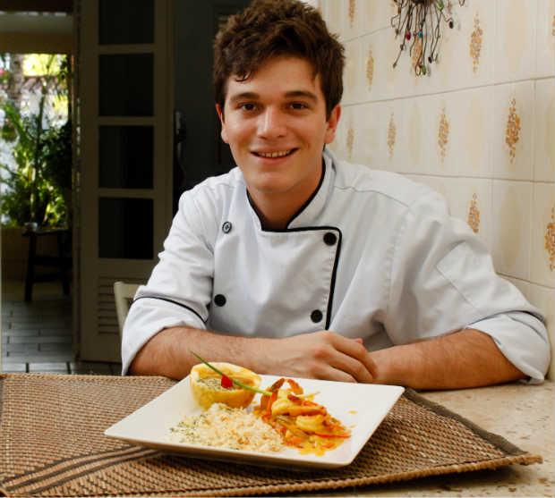 Pedro Godoy é um dos chefs envolvidos no evento. Foto: Paulo Paiva/DP.D.A/Press
