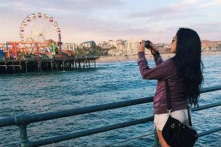 Além de tutoriais de maquiagem, a mineira Bruna Vieira compartilha detalhes de viagens. Foto: Instagram/Reprodução