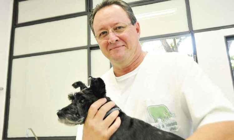 Para o veterinário Fernando Bretas, todo cão é bom, desde que se adapte ao seu estilo de vida. Foto: Cristina Hora/EM/D.A Press
