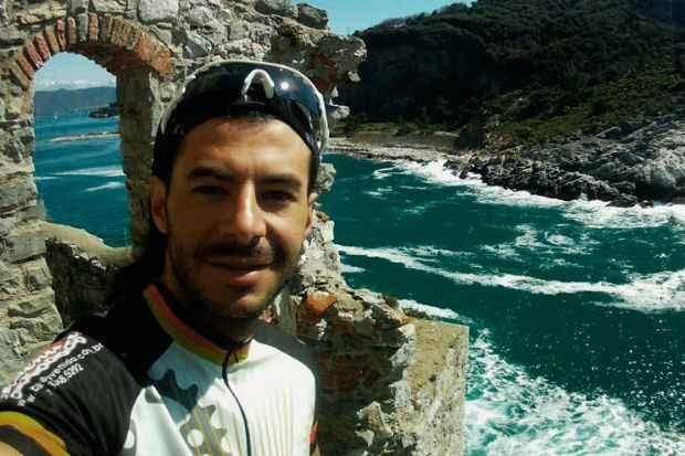 Guilherme Geveard deixou o emprego para atuar em defesa do meio ambiente. Foto: Arquivo Pessoal