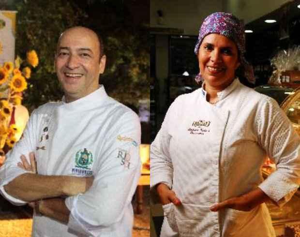 César e Hellida assinam menu de três etapas nesta quarta-feira