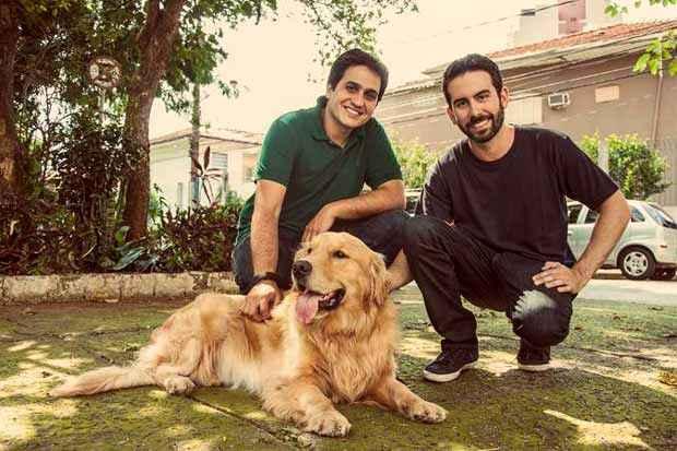 Os fundadores: Eduardo Baer e Fernando Gadotti. Foto: DogHero/Divulgação