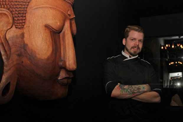 A cozinha criativa do chef Thiago Freitas. Crédito: Roberto Ramos/DP/D.A Press