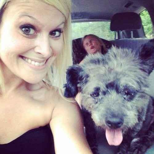 Nicole e Chester. Foto: Reprodução/Facebook/ Chester%u2019s Final Journey