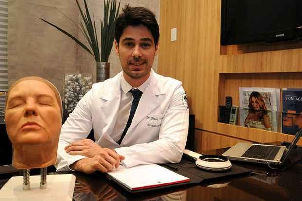 Bruno Vargas conta que a retração da economia ajudou na negociação da compra de equipamentos para a clínica Inovatto (Ramon Lisboa/EM/D.A. Press)