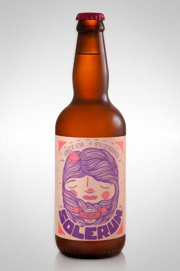 Cerveja é um dos quatro rótulos com o nome Solerum. Foto: Taberna Joana Dar'c/Divulgação