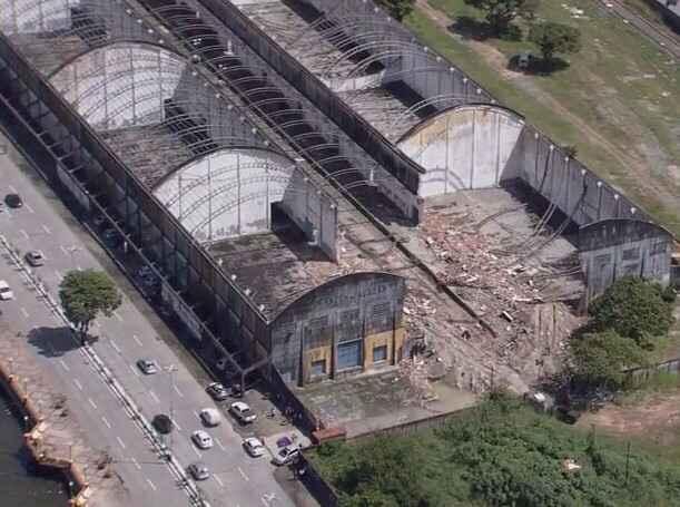 PF apura suspeita de fraude em um leilão que resultou na arrematação do terreno da antiga RFFSA, localizada na Avenida Engenheiro José Estelita. Foto: PF/ Divulgação