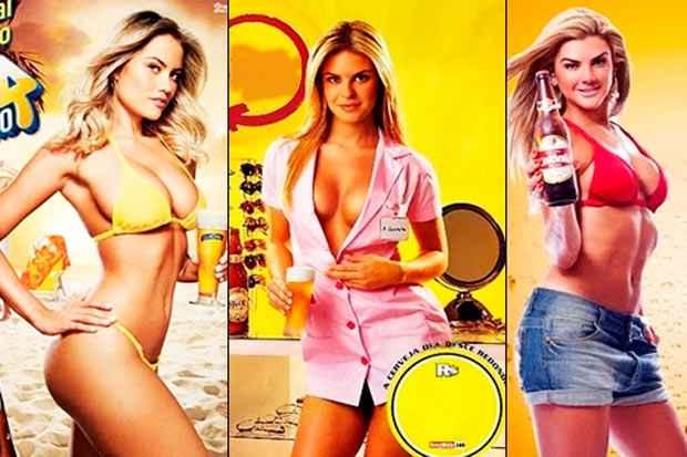 Mercado publicitário começa a sentir a pressão de grupos incomodados com clichês machistas, como os usados para vender cerveja. Foto: Reprodução/Internet