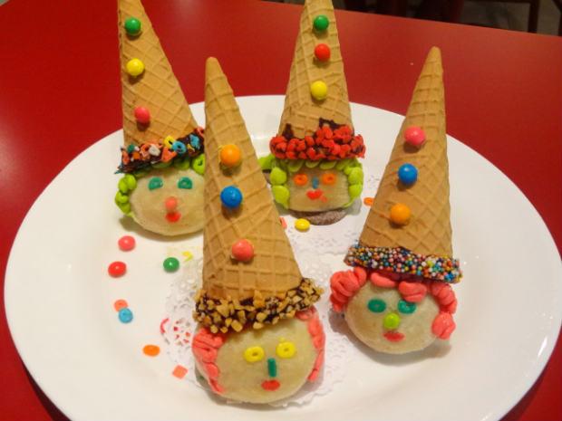 Sobremesas exclusivas ficam até o dia 18 de outubro. Na foto, o Cone Fantasia - casquinha de sorvete que leva brigadeiro de leite Ninho e Nutella, decorada com confeitos. Foto: Divulgação
