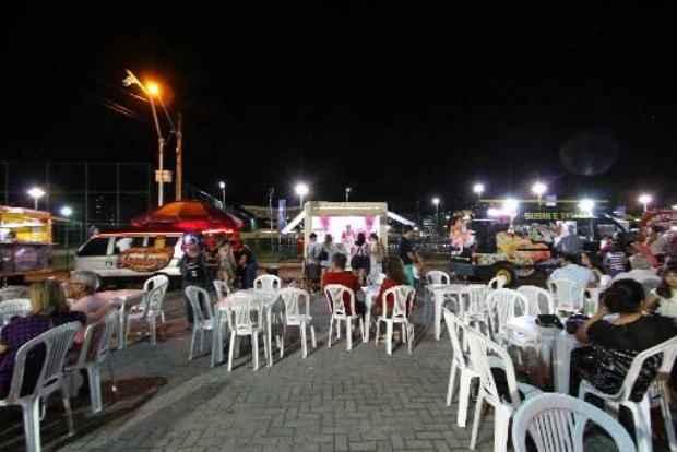 Evento gastronômico sobre rodas fica no parque até o Dia das Crianças. Foto:Paulo Paiva/DP/D.A Press