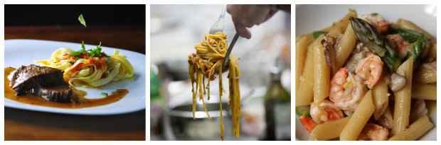 Amantes da pasta podem escolher entre curtas, longas e para sopas. Fotos: Bruna Monteiro Esp.DP/D.A Press; Newman/Divulgacao e Roberto Ramos/DP/D.A Press.