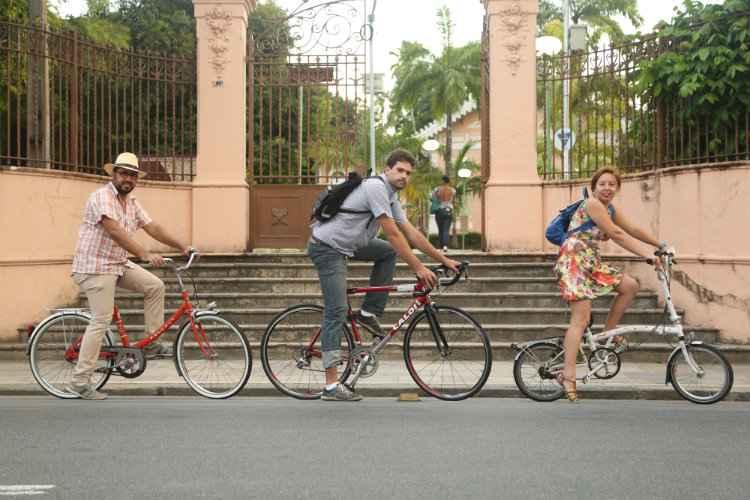 A evolução da bicicleta como modal de transporte Foto: Hesiodo Goes/DP/DP.D.A Press