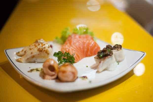 Sushis exclusivos ganham mais destaque no cardápio sequenciado. Fotos: Vito Sormany/Divulgação