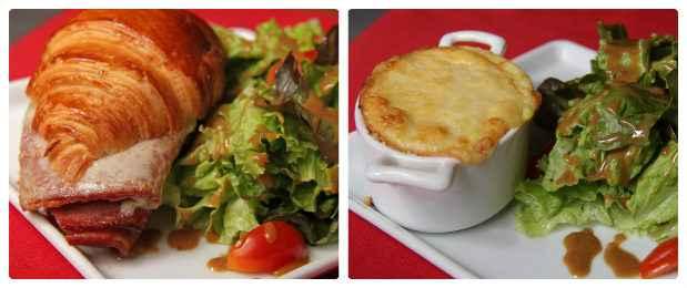 Salgados também ganham pratos novos sempre acompanhados de saladas. Fotos: Roberto Ramos/DP/D.A Press