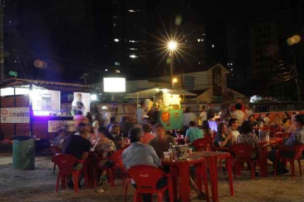 Festival começou nessa quinta-feira (5) e termina no dia 22 de novembro. Foto:Ricardo Fernandes/DP/D.A Press.