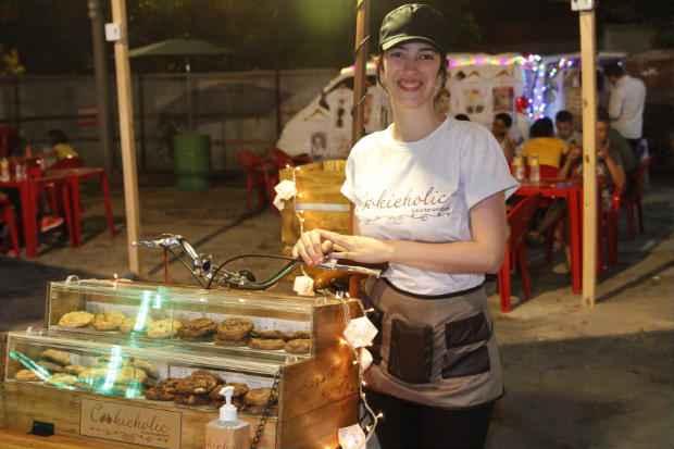 Raíssa Ferber (foto) se uniu com o namorado o chef Caio Veríssimo para investir em cookies. Foto: Ricardo Fernandes/DP/D.A Press.