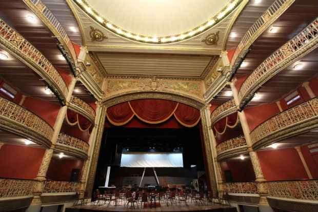 Santa Isabel disputou título com teatros como o Castro Alves, da Bahia. Foto: Nando Chiappeta/DP/D.A Press