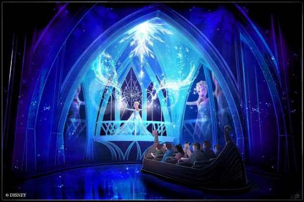 Frozen vai ganhar uma nova atração em breve no pavilhão da Noruega do parque Epcot Kingdom