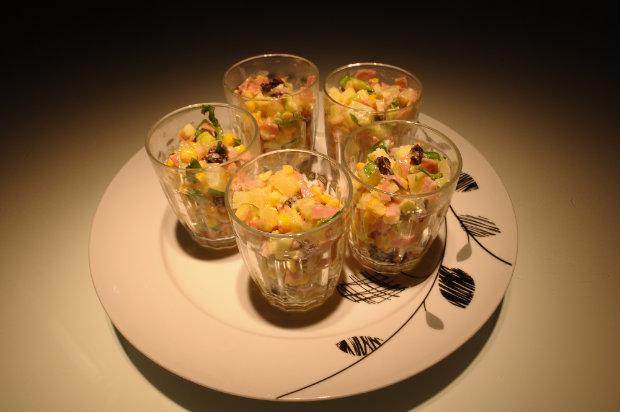 Receita pode ser colocada em copos e servida como complemento da mesa. Foto: Joao Velozo/ Esp. DP.