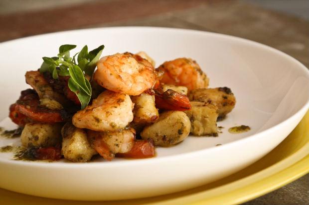 Nhoque é um dos pratos populares do Modigliani Bistrô. Foto: Hesiodo Goes/Esp. DP.