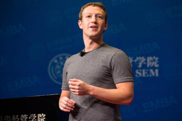 Mark Zuckerberg na Universidade Tsinghua. Foto: Reprodução/Facebook.