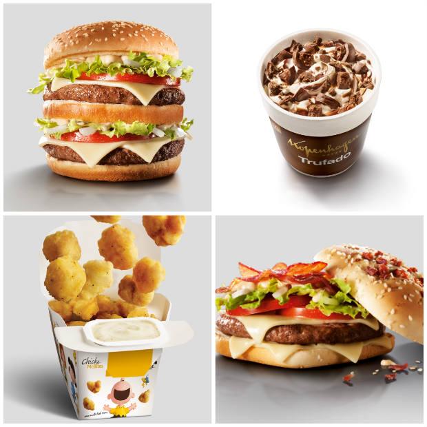 Duas novas versões do sanduíche Big Tasty também fazem parte das novidades do cardápioFoto: LatinaPR/Divulgação