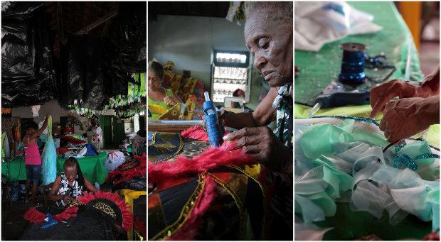 A Gigante do Samba é octacampeã do carnaval do Recife. Fotos: Annaclarice Almeida/DP