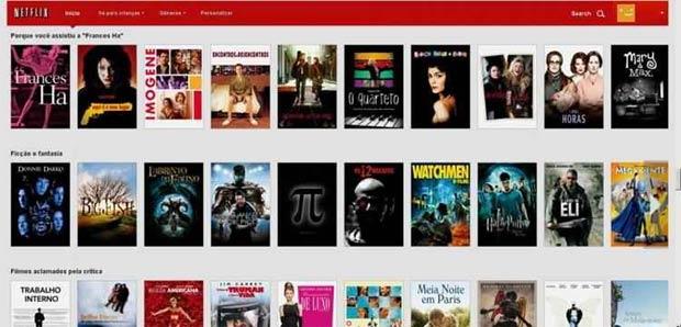 """O truque é digitar os """"códigos secretos"""" no final do URL """"gênero"""". Foto: Netflix/Reprodução"""