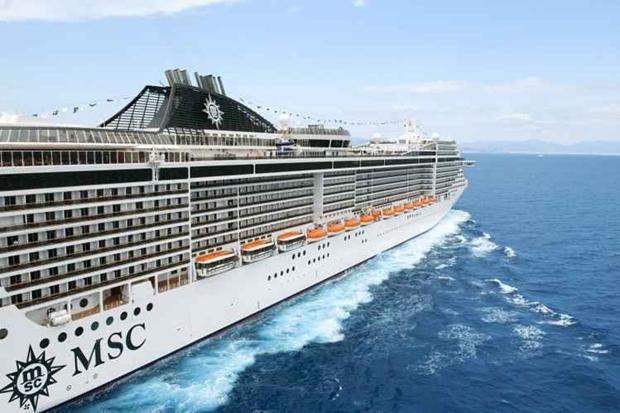 Embarcação tem mais de 300 metros de comprimento, quase 70 metros de altura e 40 metros de largura. Foto: MSC/Divulgação