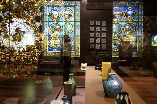 No Museu Morse, a maior coleção de vitrais e cerâmica dos EUA. Foto: Divulgação