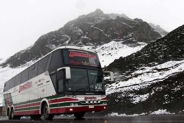 Ônibus Rio-Peru. Foto: Divulgação