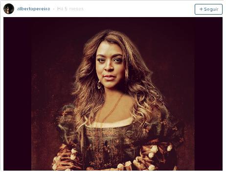 A cantora Preta Gil também ganhou nova versão. Foto: Instagram/Reprodução