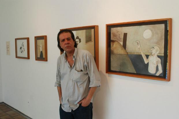 Última exposição individual do artista foi em 2012. Foto: Julio Jacobina/ DP