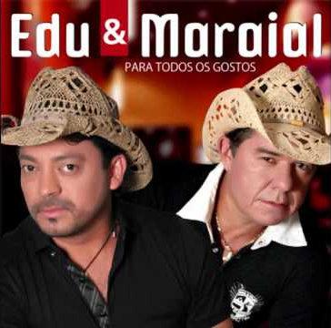 Com a dupla Edu e Maraial, Marquinhos gravou quatro CDs e dois DVDs. Foto: Reprodução/Internet