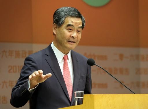 Ligado a Pequim, Leung Chun-ying é o pior inimigo do movimento pró-democracia.Foto: Isaac Lawrence/AFP