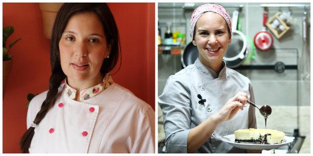 Chefs unem temperos e técnicas para promover jantar. Fotos: Bruna Monteiro DP/D.A Press e Hesiodo Goes/DP