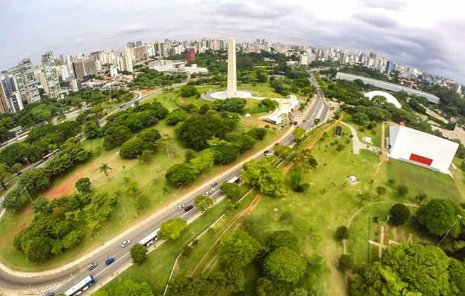 São Paulo, com o Parque do Ibirapuera, é o destino nacional mais procurado. Foto: Rafael Neddermeyer/FP