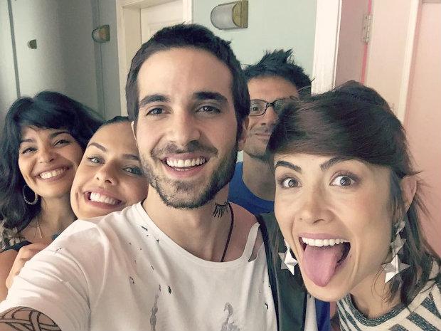 Fiuk e Maria Casadevall no elenco. Foto: Instagram/Reprodução (Foto: Instagram/Reprodução)