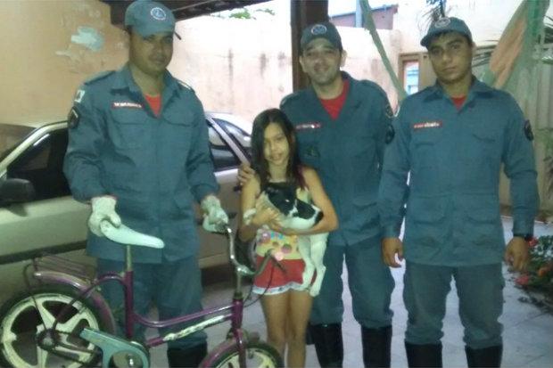 Foto: Corpo de Bombeiros/Divulgação.