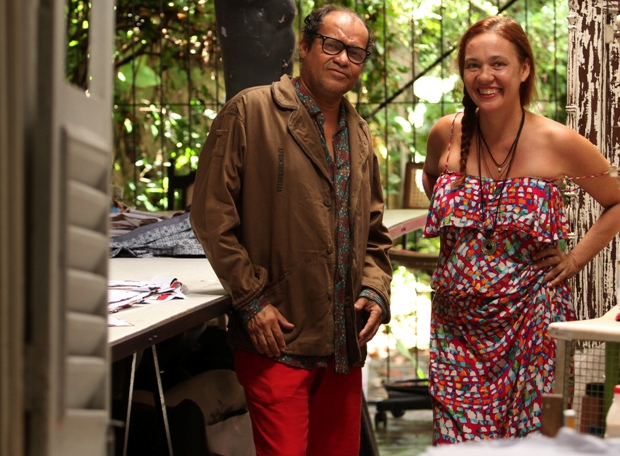 Clezinho e Márcia, à frente da Período Fértil, recebiam encomendas diretas de Chico Science. Foto: Peu Ricardo/DP/DA Press