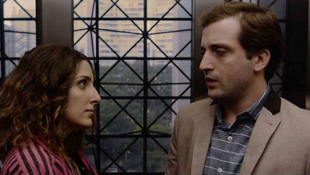 """Ex-namorados, Clarice e Gregório estrelam o filme """"Desculpe o transtorno"""". Foto: Gullane/Divulgação"""