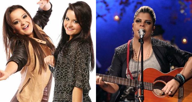 Além de Marília, nomes como Maiara e Maraísa e Paula Mattos engrossam o caldo. Foto: Reprodução/Facebook