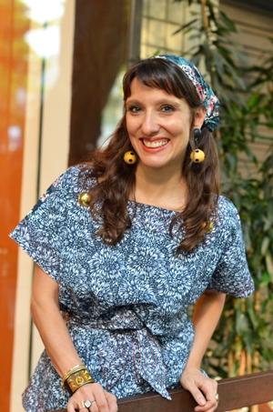 Isabela passou temporada em Noronha, onde também buscou inspirações. Foto: Luiza Chataignier