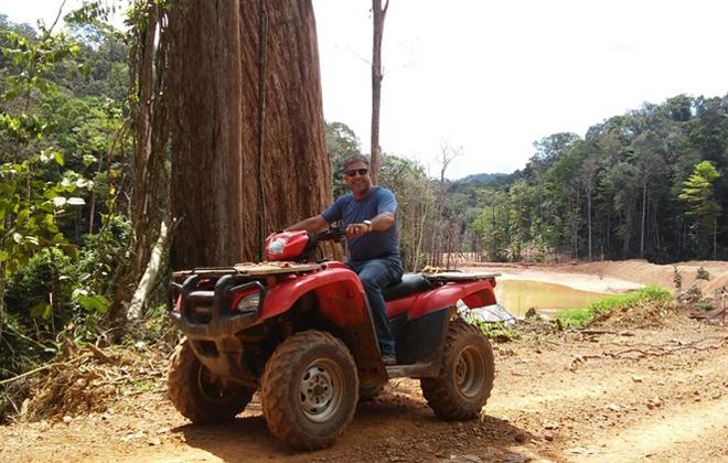 Moisés Inácio visitou nove capitais. Fez seguro para todas as viagens. Foto: Arquivo pessoal